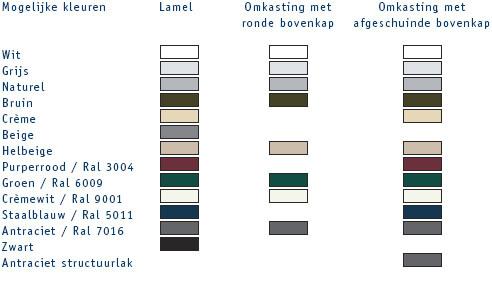 kleurengamma  MN842 & MNLITE